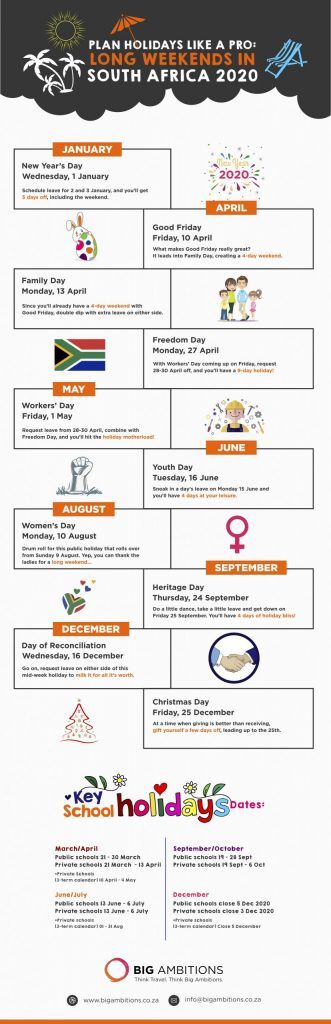 2020 Public Holidays: Plan your leave like a pro 1