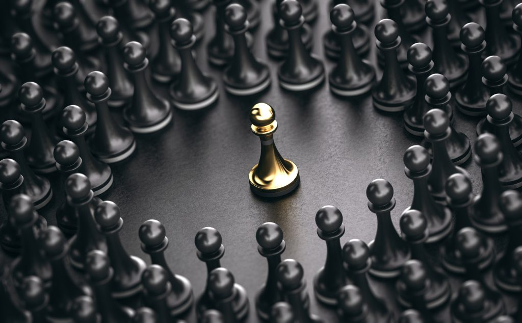 Focussed Marketing - Chess Pawns
